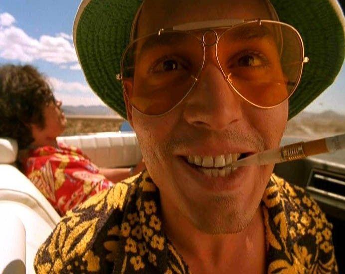 "Johnny Depp in ""Paura e Delirio a Las Vegas"" di Terry Gilliam"
