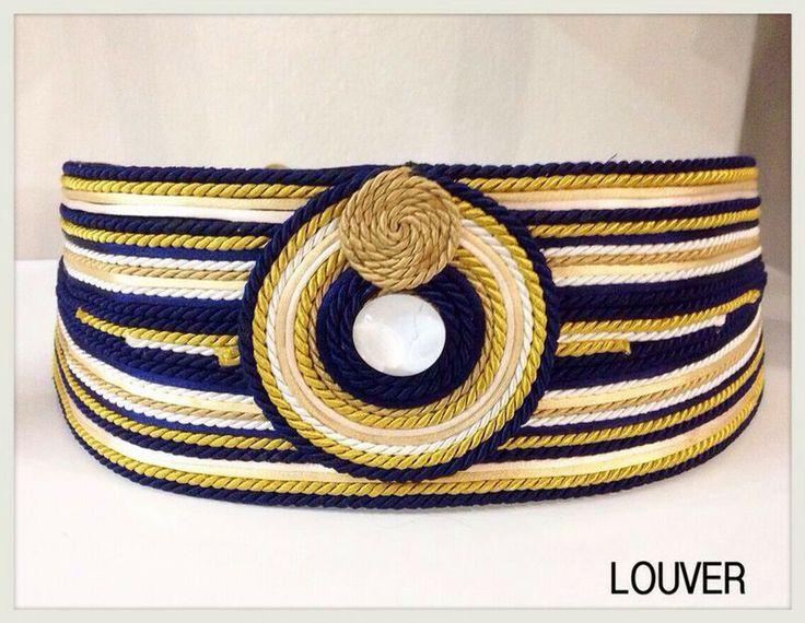 #moda#louver#marbella#cinturon#pasamaneria#cordon#dorado#azulmarino#beige#piedra