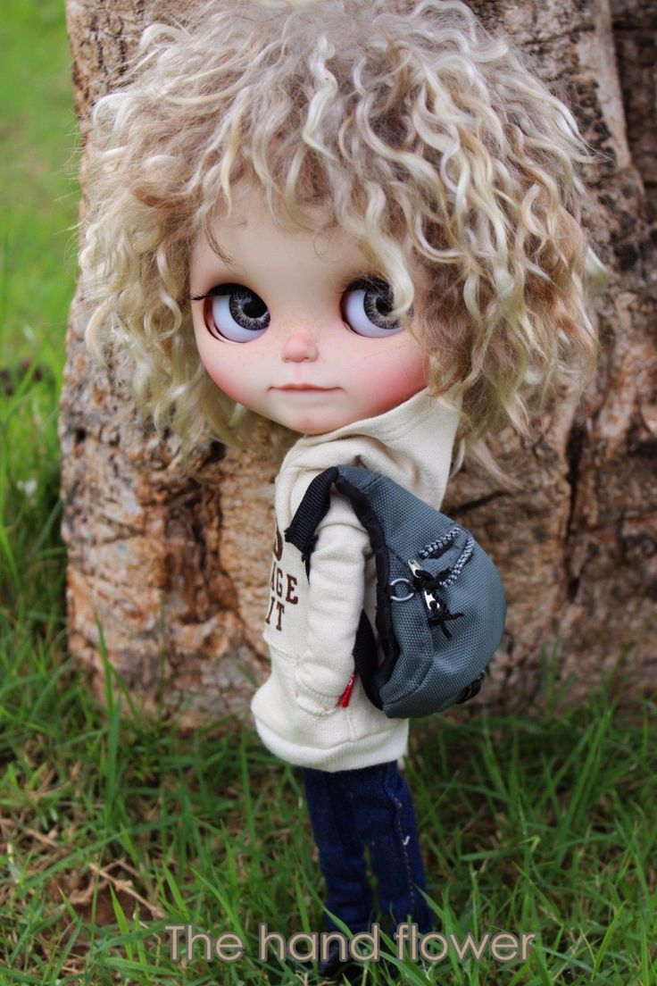 OOAK Custom Original Takara Blythe Doll Friendly Freckles by Thehandflower | eBay