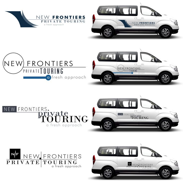 New Frontiers Tours Logo Design and branding
