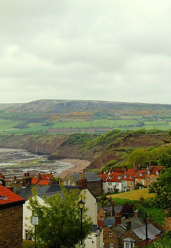Robin Hood's Bay, England. The beginning or the end of the coast to coast walk