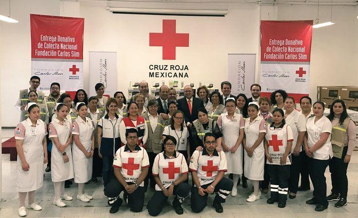 Fundación Carlos Slim y TELMEX entregan donativo por más de 12.1 MDP a la Cruz Roja | El Puntero