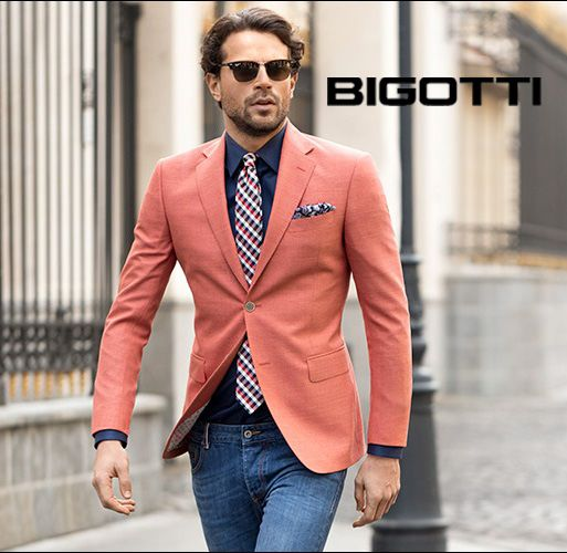 La #vita e #bella! Have a #wonderful #week! #Mensoutfitinspiration. #Great #look for #spring. #Bigotti #new #collection on www.bigotti.ro