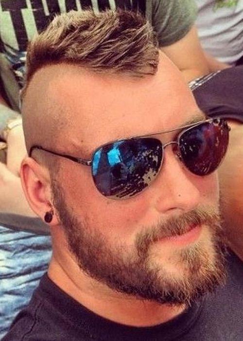 Best 25 Mohawk Hair Men Ideas On Pinterest Mohican