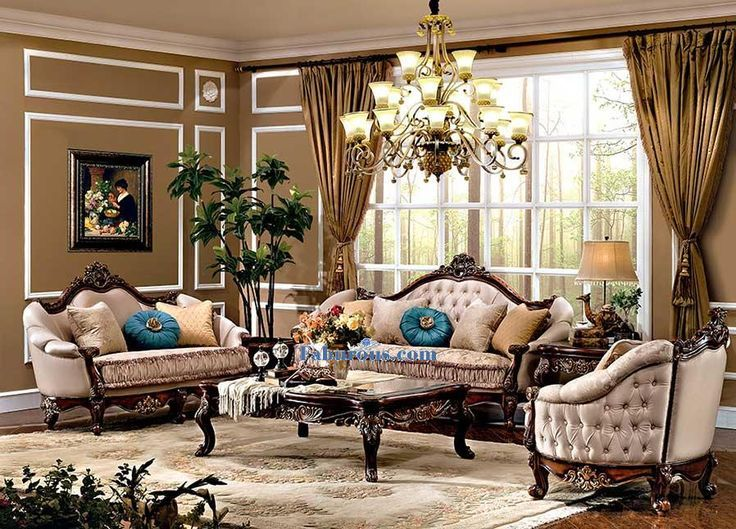Living Room Victorian Style