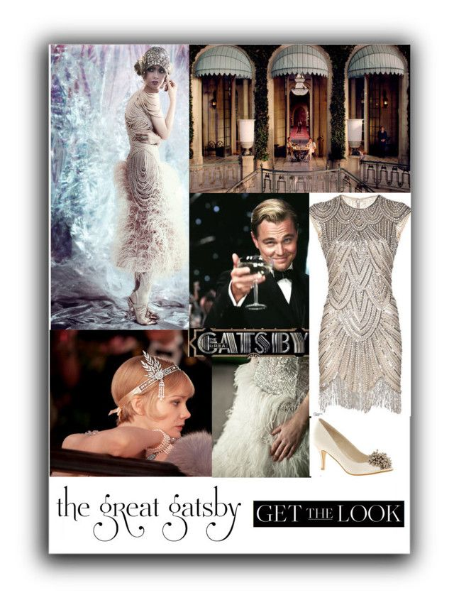 """""""Gatsby look"""" by taniagf ❤ liked on Polyvore featuring Gatsby, Tiffany & Co., Christian Dior and outfit"""