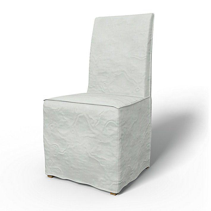 Gray Linen Henriksdal Seat Cover