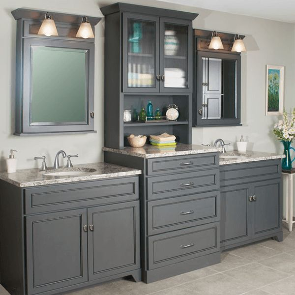 double vanity with tower. Woodpro Gentry double vanity with storage tower Best 25  Double ideas on Pinterest sink bathroom