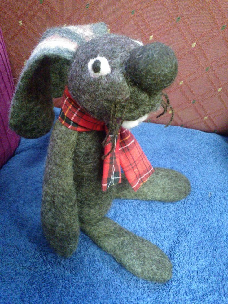 This Theatre Rabbit went to a playschool.