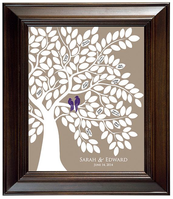 Hey, I found this really awesome Etsy listing at https://www.etsy.com/listing/183574148/guest-book-tree-with-love-birds-wedding