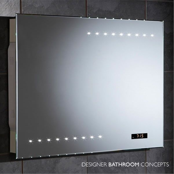 This High Quality Stunning To Look At Acoustic Designer Bathroom Radio Mirror Will Get People