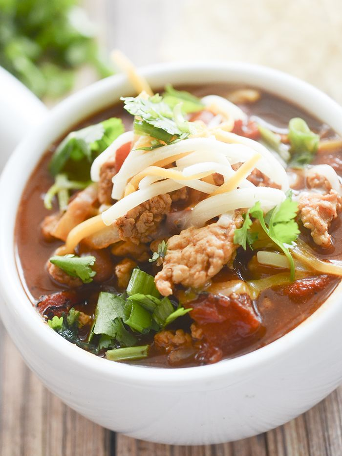 Weight Watcher's Buffalo Chicken Chili – Recipe Diaries