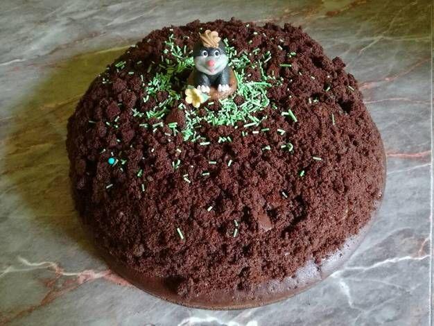 Vakondtúrás torta