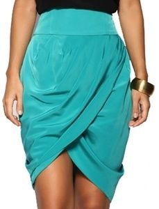 Tulip skirt. http://www.formalworkattire.com/different-types-of-skirts-with-pictures/