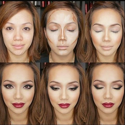 Before & After contouring  #marykaycosmetics #cosmetics #contouring #highlighting #follow #potd #iger #marykay #love #beauty #beforeandafter #transformation #c4c