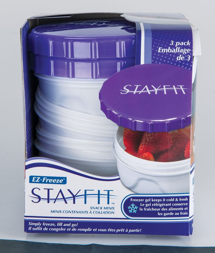 Stay Fit contatiners make lunchtime easy and convenient.