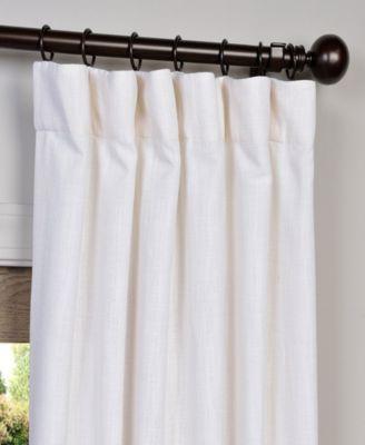 Exclusive Fabrics Furnishings Heavy 50 X 120 Curtain Panel