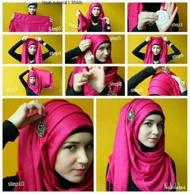 how-to-wear-hijab-fashionably-.jpg (610×623)