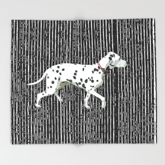 10% Off + Free Worldwide Shipping Today! #dalmation #society6  #s6promo #decor