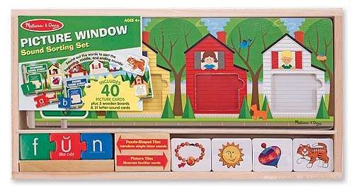 Melissa-&-doug Melissa & Doug Picture Window Sound Sorting Set | Buy Online in South Africa | TAKEALOT.com