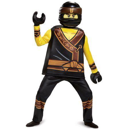 Disguise Lego Ninjago Movie Cole Prestige Kids Costume Small 4-6