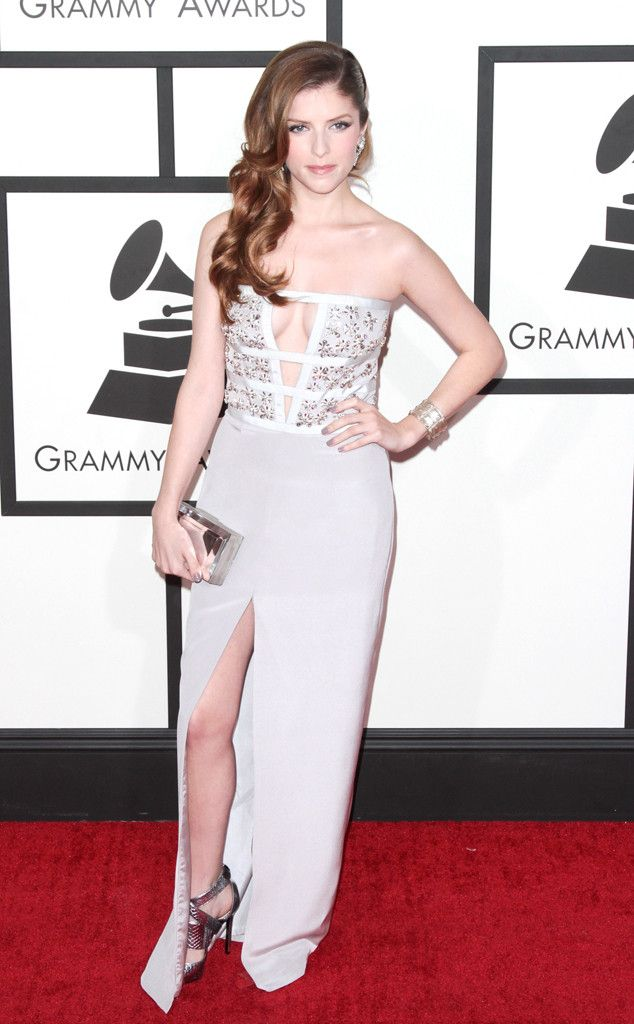 Anna Kendrick from 2014 Grammys: Red Carpet Arrivals | E! Online