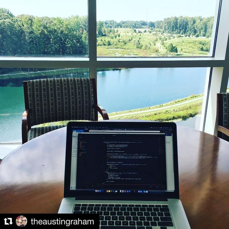 Repost @theaustingraham  #lakeview #lowes #corporatelife #codinglife #digitalnomads #nomad #coding #programmer #webdevelopment #coder #syntax #error #node #nodejs