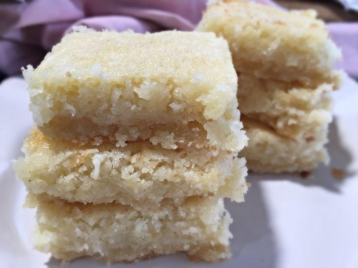 Barras de Coco, Deliciosas, es un postre increible echo barrita!