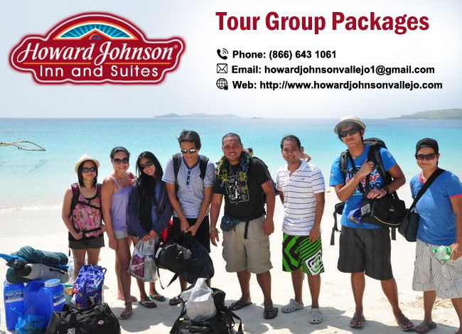 #Howardjohnsonvallejo offers customized packages for local, regional, national, and international #tour_groups visiting.  http://goo.gl/X7YurY