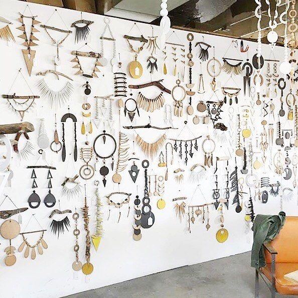 Heather Levine ceramic wall hangings @shopesqueleto