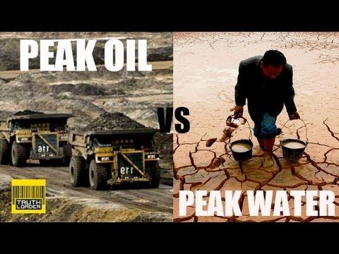 (Important for food implications) Peak oil and peak water explained [part one] - Truthloader - YouTube