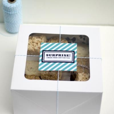 Surprise Gift Tags