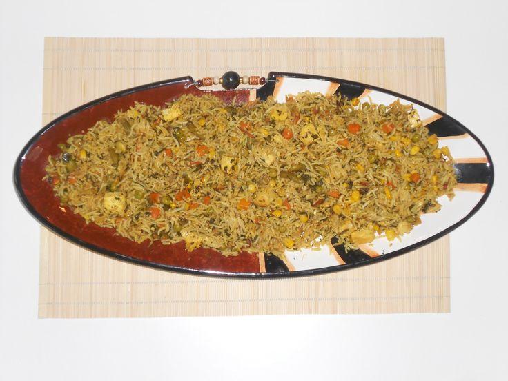 Vegetable Rice Pliaf