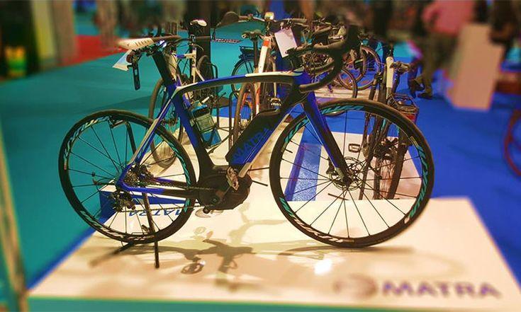 Matra i-speed Race D11 S : un vélo de course électrique ultra léger avec système Bosch