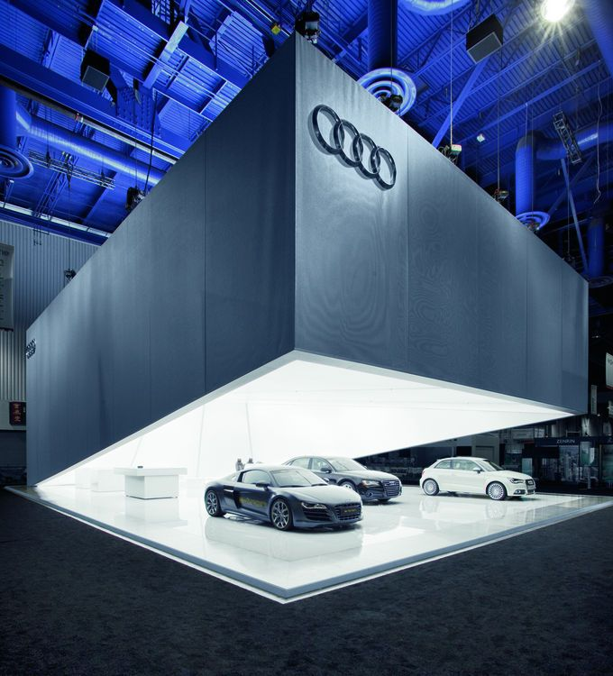 The Jury Team Deemed Audi Booth At CES To Be Brash And Self Confident Garnering A Gold Award In Corporate Architecture