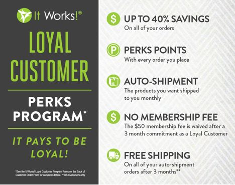 Wow...It is CRAZY to think that just 6 months ago I began my journey with It Works Global. What started as a way for me to shed my last ...
