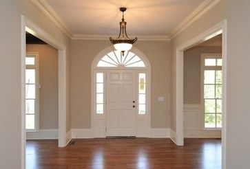 Buckhead Colonial Farmhouse traditional-entry SW accessible beige