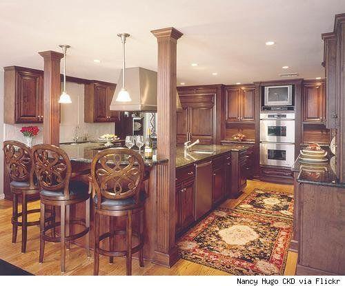 kitchen layouts with island | Island Kitchen Ideas