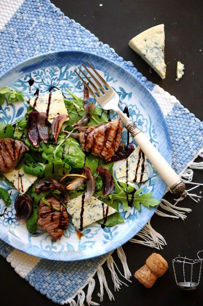 Салат с Дор Блю