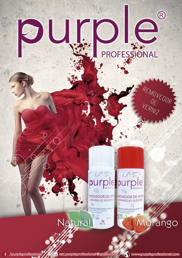 Betty Nails: Purple Professional NEWS