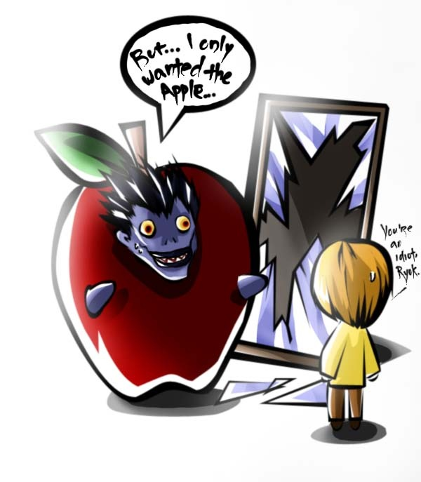 Ryuk in an Apple Suit by Cathselprime | Death Note ...