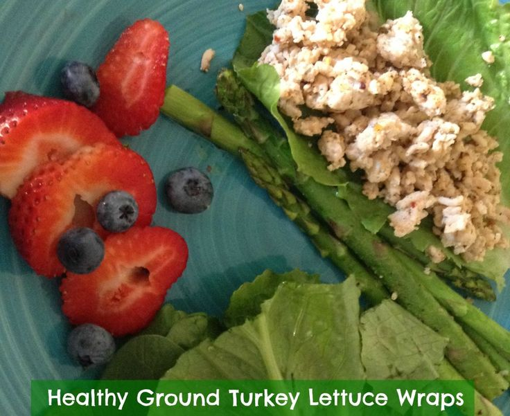 healthy ground turkey lettuce wraps mynt core recipes