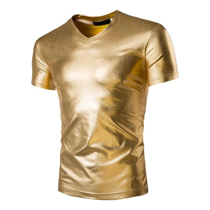Find More T-Shirts Information about 2016 Fashion Men's Bright Leisure T shirt Slim V neck Mens T shirts Nightclub Performance Clothing Mens Tops Clothes 3 Color,High Quality men fashion t shirt,China men t shirt Suppliers, Cheap mens t shirts fashion from DANEL 008 Store on Aliexpress.com