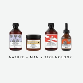 Naturaltech. Nature + Man + Technology. Explore our Family of Naturaltech Products and Experience the Davines Difference.