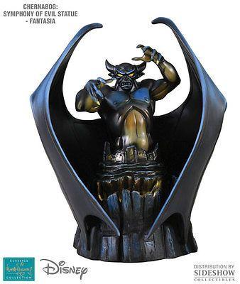 Disney Villains 166789: Disney S Fantasia~Chernabog~Symphony Of Evil~Statue~Le 1000~Wdcc~Mib -> BUY IT NOW ONLY: $599.95 on eBay!