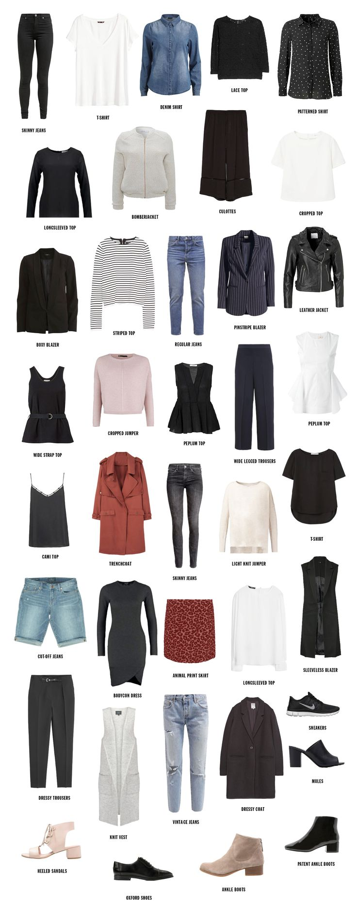 37 Best Images About Fashion / Capsule Wardrobe On