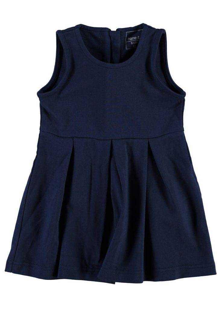 Jurken Name it Jerseyjurk - dress blues Donkerblauw: € 24,95 Bij Zalando (op 7-9-16). Gratis bezorging & retournering, snelle levering en veilig betalen!