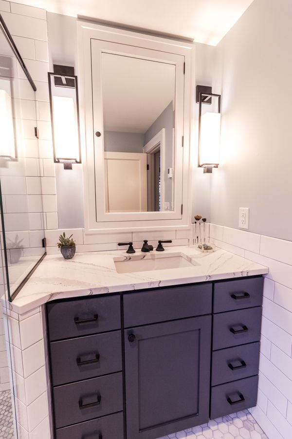 Project 3280 1   Whole House Remodel 3 Bathrooms Master Bath Kids Bathroom  Powder Room Kenwood South Minneapolis MN Castle Building U0026 Remodeling, ...