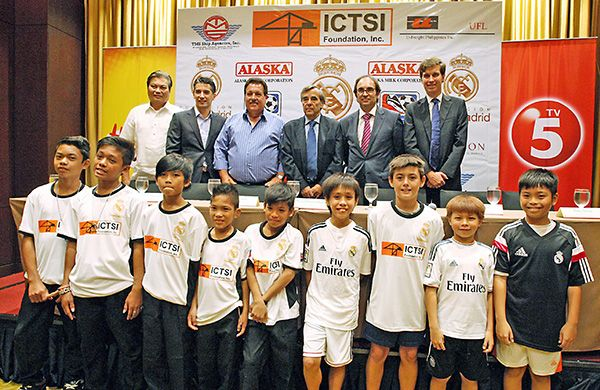 #RealMadrid to conduct #football clinics in the Philippines.