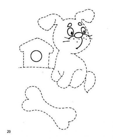 Первые прописи , возраст 3-4 года - Поделки с детьми | Деткиподелки